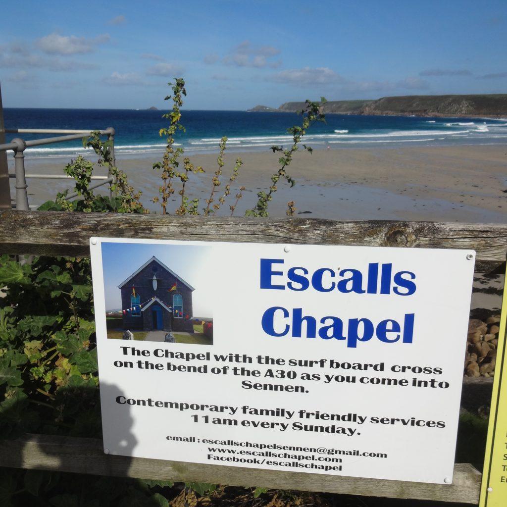 Escalls Sign