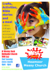 Messy Church, 2nd Tuesday every month